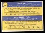 1970 Topps #96  Cardinals Rookie Stars  -  Leron Lee / Jerry Reuss Back Thumbnail