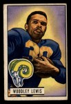 1951 Bowman #5   Woody Lewis Front Thumbnail