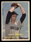 1957 Topps #56   Dave Sisler Front Thumbnail
