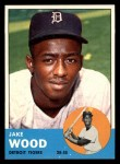 1963 Topps #453  Jake Wood  Front Thumbnail