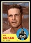 1963 Topps #456   Jim Coker Front Thumbnail