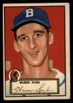 1952 Topps #33 RED Warren Spahn  Front Thumbnail