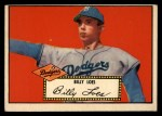 1952 Topps #20 RED Billy Loes  Front Thumbnail