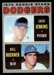 1970 Topps #286  Dodgers Rookie Stars  -  Jack Jenkins / Bill Buckner Front Thumbnail