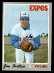 1970 Topps #646   Jim Britton Front Thumbnail