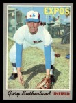 1970 Topps #632   Gary Sutherland Front Thumbnail