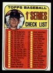 1969 Topps #57 B Checklist 1    -  Denny McLain Front Thumbnail