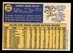 1970 Topps #685   Tom Haller Back Thumbnail