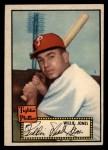1952 Topps #47 BLK  Willie Jones Front Thumbnail