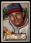 1952 Topps #76 BLK Eddie Stanky  Front Thumbnail
