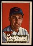 1952 Topps #295   Phil Cavarretta Front Thumbnail