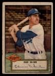 1952 Topps #37 RED  Duke Snider Front Thumbnail