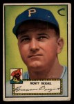1952 Topps #12 RED Monty Basgall  Front Thumbnail