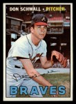 1967 Topps #267  Don Schwall  Front Thumbnail