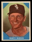 1960 Fleer #19   Marty Marion Front Thumbnail