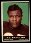 1961 Topps #17   JC Caroline Front Thumbnail