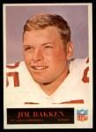 1965 Philadelphia #156  Jim Bakken  Front Thumbnail