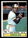 1979 #640  Eddie Murray  Front Thumbnail