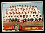 1979 Topps #214  Red Sox Team Checklist  -  Don Zimmer Front Thumbnail