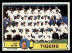 1979 Topps #66  Tigers Team Checklist  -  Less Moss  Front Thumbnail