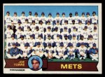 1979 Topps #82  Mets Team Checklist  -  Joe Torre Front Thumbnail