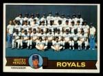 1979 Topps #451  Royals Team Checklist  -  Whitey Herzog  Front Thumbnail