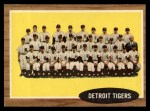 1962 Topps #24  Tigers Team  Front Thumbnail