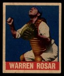 1949 Leaf #128  Warren  Buddy  Rosar  Front Thumbnail