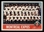 1976 Topps #216  Expos Team Checklist  -  Karl Kuehl Front Thumbnail
