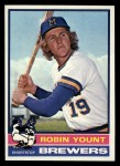 1976 Topps #316   Robin Yount Front Thumbnail
