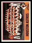 1976 Topps #147  Astros Team Checklist  -  Bill Virdon Front Thumbnail