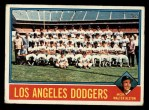 1976 Topps #46  Dodgers Team Checklist  -  Walter Alston Front Thumbnail