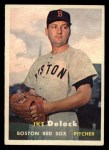 1957 Topps #63   Ike Delock Front Thumbnail