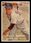 1957 Topps #268   Jackie Collum Front Thumbnail