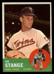 1963 Topps #246   Lee Stange Front Thumbnail