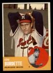 1963 Topps #429  Lew Burdette  Front Thumbnail