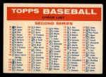 1957 Topps #0  Checklist - Series 2 & 3  Front Thumbnail