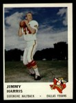 1961 Fleer #207  Jimmy Harris  Front Thumbnail