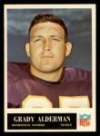 1965 Philadelphia #100   Grady Alderman  Front Thumbnail
