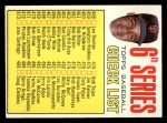 1967 Topps #454 ERR  -  Juan Marichal Checklist 6 Front Thumbnail
