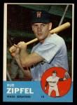 1963 Topps #69   Bud Zipfel Front Thumbnail