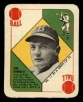 1951 Topps Red Back #11  Gene Hermanski  Front Thumbnail