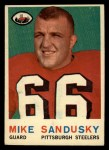 1959 Topps #136   Mike Sandusky Front Thumbnail