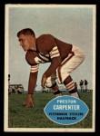 1960 Topps #96   Preston Carpenter Front Thumbnail