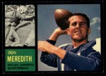 1962 Topps #39  Don Meredith  Front Thumbnail