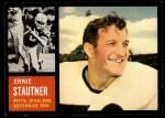 1962 Topps #134  Ernie Stautner  Front Thumbnail