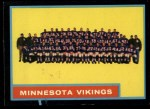1962 Topps #101  Vikings Team  Front Thumbnail
