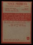 1965 Philadelphia #194  Vince Promuto   Back Thumbnail