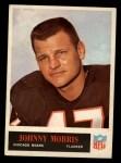 1965 Philadelphia #23   Johnny Morris  Front Thumbnail