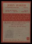 1965 Philadelphia #142   John Baker  Back Thumbnail